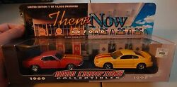 road champs then now mustang 2 car set 1