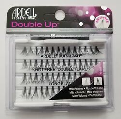 (LOT OF 72) Ardell Duralash Knot-Free DOUBLE UP Flares LONG Individual Eyelashes