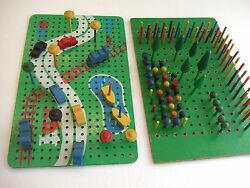 early 1960 playskool wooden peg board
