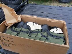 One Case .12 ..pairs Size 13.5 N Narrow Jungle Boots Military Surplus Army Lot