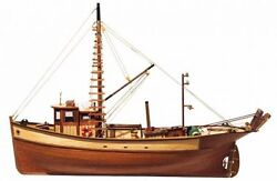 Occre Palamos Fishing Boat 145 Scale 12000 - Ideal Beginners Model Boat Kit