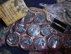 Nwd Lot Of 12 Fillable Treat Containers Party Favors Gift Boxes Christmas Treats