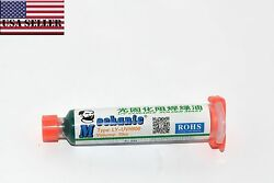 10ml 10cc Pcb Circuit Board Uv Curable Curing Solder Mask Resistant Green - Usa