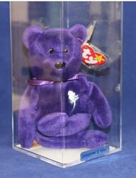 Princess  Diane Authenticated (PVC - 1st Ed.  Indonesian Version Ty Beanie Baby