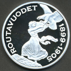 Finland Silver Treasure Collection Coin - Russification 1899-1905 - Proof