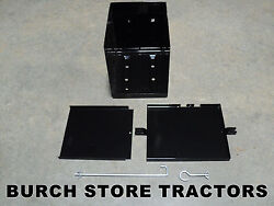 New Complete Battery Box With Hardware For Ih Farmall Cub An Cub Loboy Tractors
