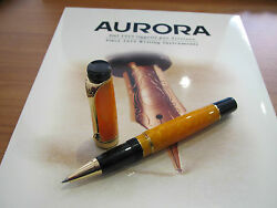 Aurora Sole limited edition Mint roller ball pen