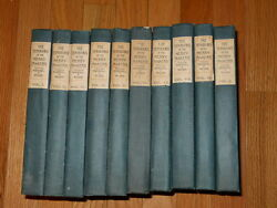 The Ten Books Of The Merrymakers - Marshall P. Wilder Complete Set 1909 Circle