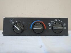 96-98 Chevy Van Express Astro AC Conditioner Heat Climate Control OEM # 16202950