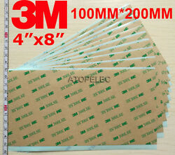 3m 300lse Double Sided Super Sticky Heavy Duty Adhesive Sheet 4x8 100mm200mm