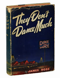 They Donand039t Dance Much By James Ross First Edition 1940 Country Noir 1st Book