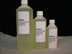 Mobil Velocite No 3. High Speed Spindle Oil. Free U.k Postage.
