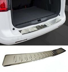 Bmw 3 Series E90 Rear Bumper Stainless Steel Protector Guard Trim Cover Chrome M