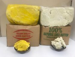 100 Raw African Shea Butter Unrefined Organic Pure Ghana Choose Size And Color