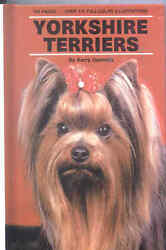 Terrier Dog Book Yorkshire Terriers Book