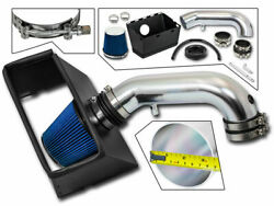 Cold Heat Shield Air Intake + Blue Filter For 09-18 Ram 2500 5.7l V8
