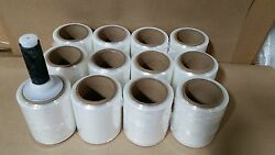 5and039and039x1000and039 Hand Stretch Film Wrap - 12 Rolls Included