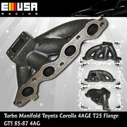 Castturbo Manifold For 85-86 Toyota Corolla Sport Gts Hatchback 2d 4age T25 Gts