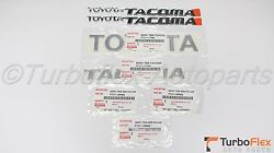 Toyota Tacoma Sr5 1998-2004 Door And Tailgate 7 Emblem Kit Genuine Discontinued