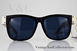 SUNGLASSES JEAN PAUL GAULTIER 568002 VINTAGE 56-6106 COLLECTOR (NEWS) 1990
