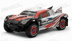 Team Energy V8SC 18th Scale Brushless Powered RTR Racing Short Course Truck RED