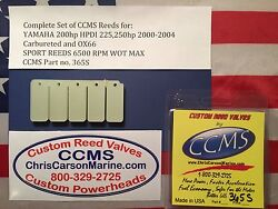 Ccms Yamaha Sport Outboard Reed Valve 200hp Hpdi 225250hp 00-04carbox66 Pn365s