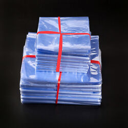 Pvc Heat Shrink Wrap Film Flat Bags For Candles Gift Crafts Cosmetics Packaging