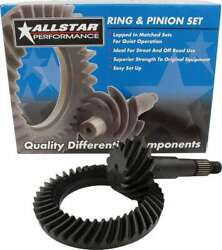 All70124 Allstar Performance Gear Sets Ring And Pinion 3.731 Ratio Gm 8.5