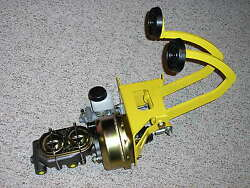 Universal Power Brake Booster Clutch Pedal Master Cylinder Assembly Street Rod +