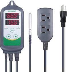 ITC-308 Pre-Wired Digital dual Temperature Controller Temp control heater switch