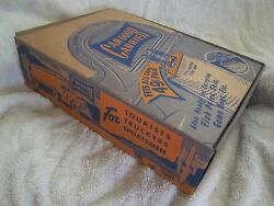 Rare 1930s-40s Car-door Carrier Store Counter Display / Sign Nos Full Box Mint