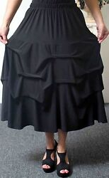 Designer Lagenlook Plus size skirtAddition to our Travel Line with side pockets