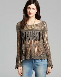 Nwt Free People - Annabelle Crochet Pullover Top