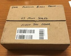 2016-w American Platinum Eagle Proof Mint Sealed Box And Ready To Ship