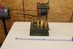 Antique Hydraulic Press Demonstration Apparatus By Es Ritchie And Sons Boston 1866