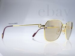 Cartier Sunglasses  Vintage Courcelles Large [59-18] Large NEWS OLD STOCK RARE