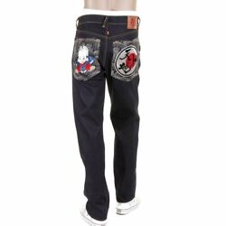 Rmc Jeans Rmc Red Monkey Jeans Slim-fit Fukusuke And Ten Chi Jin Denim Jeans