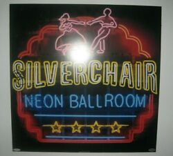 Silverchair - Rare Signed Promotional Neon Ballroom Wooden Plaque Sign Amazing