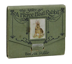 The Story of a Fierce Bad Rabbit ~ BEATRIX POTTER ~ First Edition 1906 1st Issue