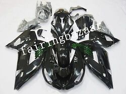 Fit for ZX14 2006-2011 2007 2008 Black Green ABS Injection Bodywork Fairing Kit