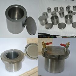 A Set Of 4x50ml Tungsten Carbide Milling Jars - For Planetary Ball Mill-pbm-04