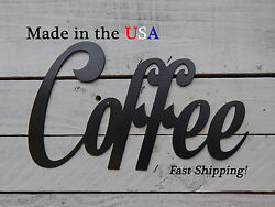 Large Coffee Sign - Kitchen Decor-cafe Decor - Gift's For Coffee Lovers - W1112
