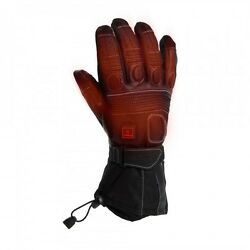 VENTURE - HEATED Motorcycle Motorbike Touring Winter Gloves - PLUGGED INTO BIKE