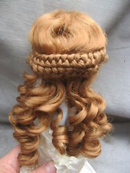 Size 7 Auburn Naomi Antique Modern Doll Wigs Synthetic Mohair