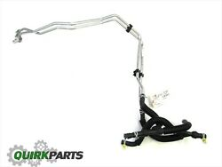 08-09 Town And Country Grand Caravan Rear Auxillary Heater Hose Line Hoses Return