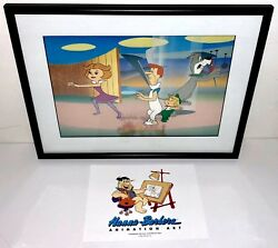 Hanna Barbera Cel The Jetsons 1980and039s Original Production Rare Animation Art Cell