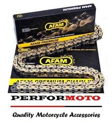Afam Recommended Gold Chain 112 Link Ktm 125 Mx/sx 91-93