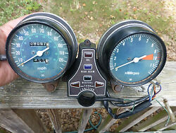 1977 1978 Honda Cb750 750k Instrument Cluster Tach Speedometer Gauges Lights