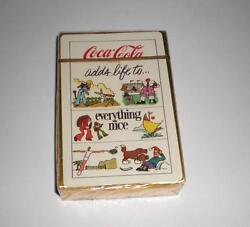 New Never Opened Coca Cola Adds Life To Everything Nice Deck Of Playing Cards 2