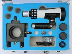 Portable Metallurgical Microscope + Moving Stage Magnetic Base + Carrying Box